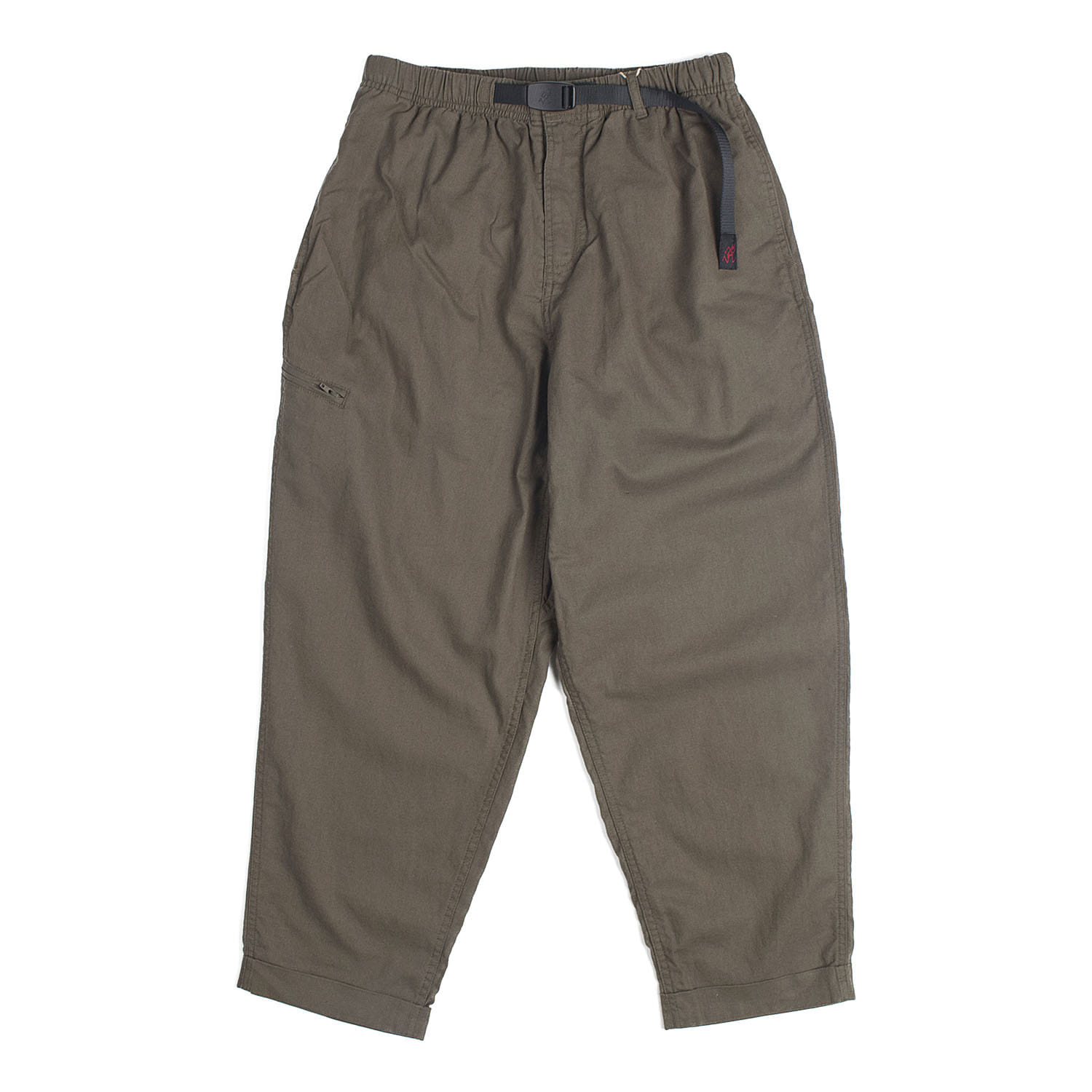 Linen Cotton Resort Pants (Olive)