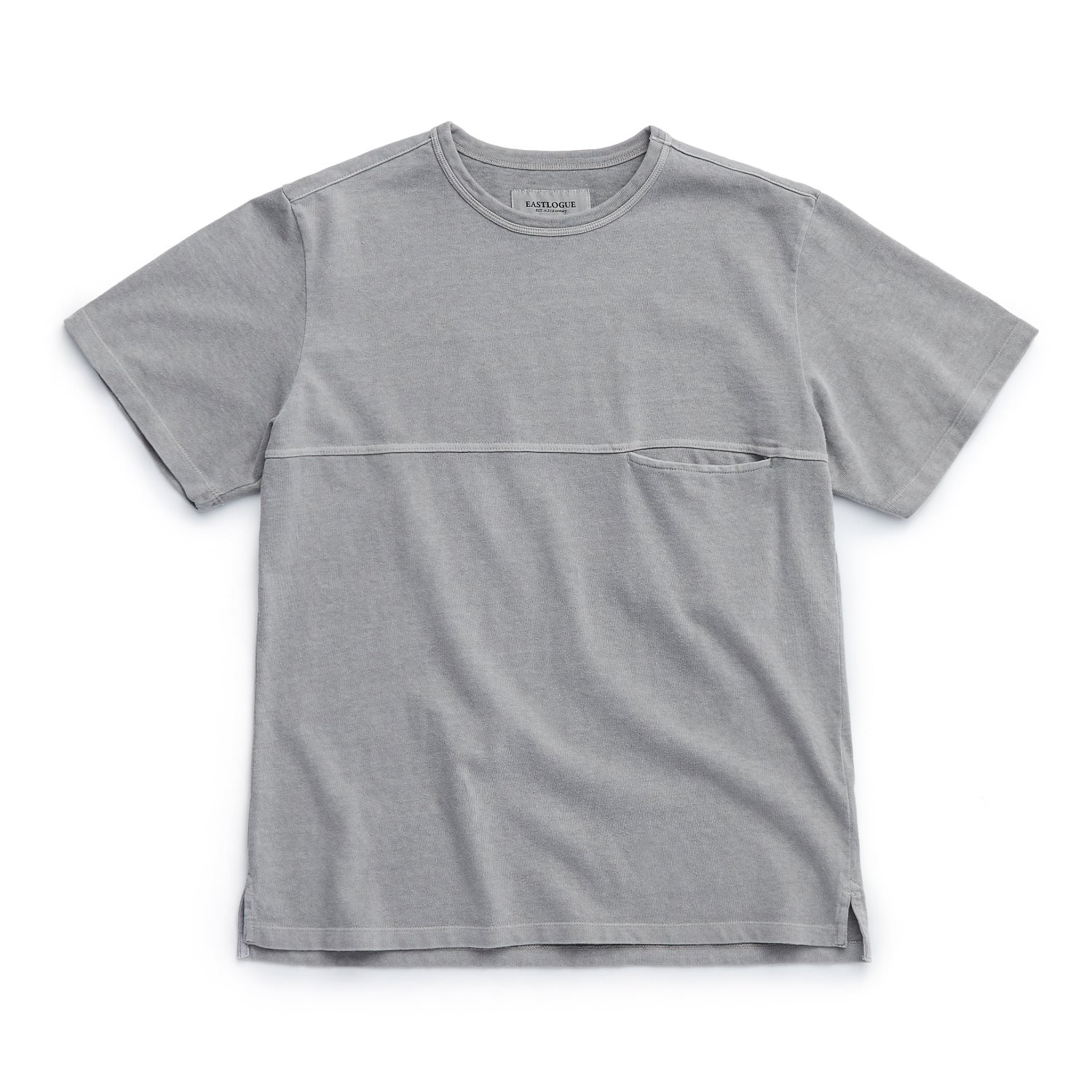 EASTLOGUE One Pocket T-Shirts (Grey)