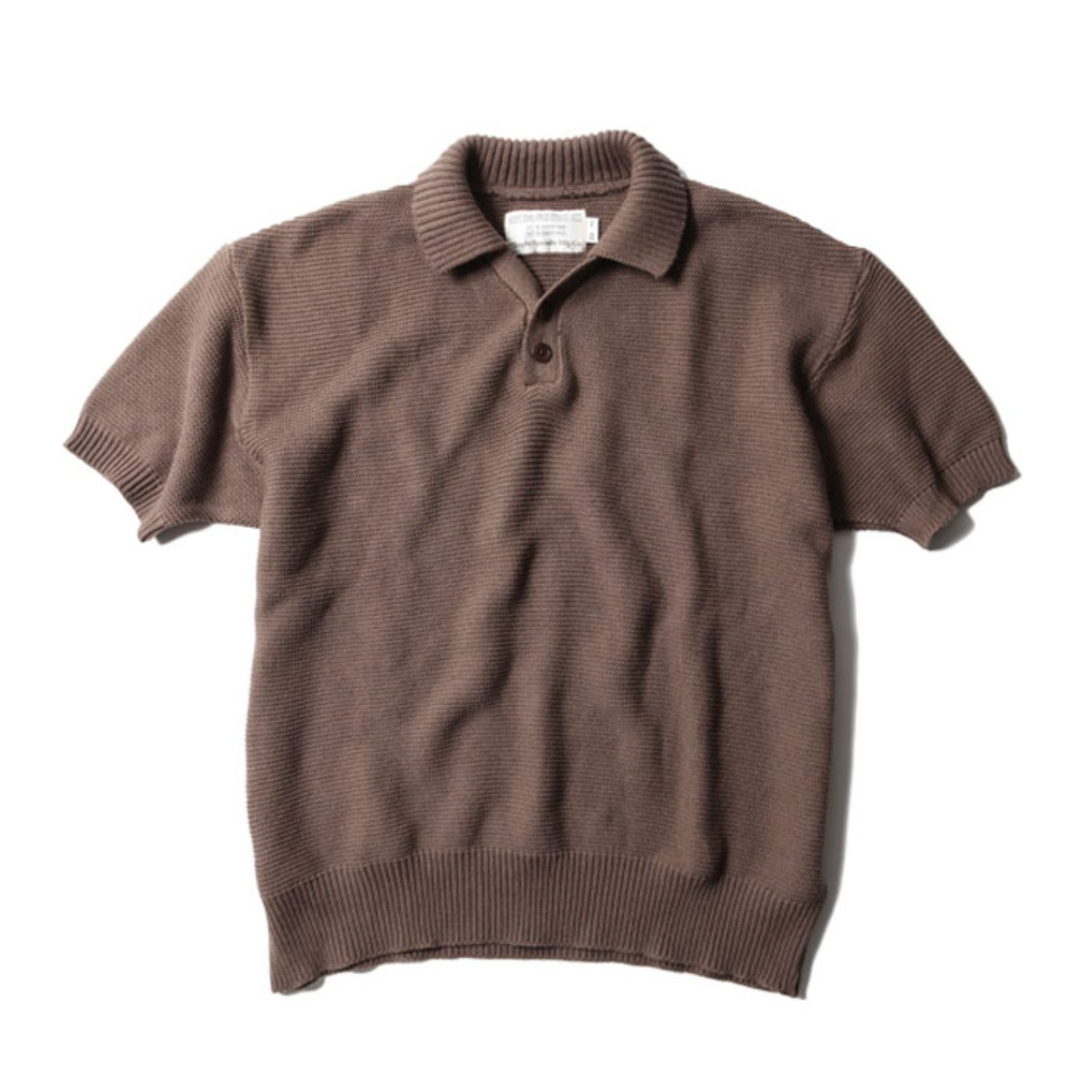 Red Cross Summer Polo (Brown)