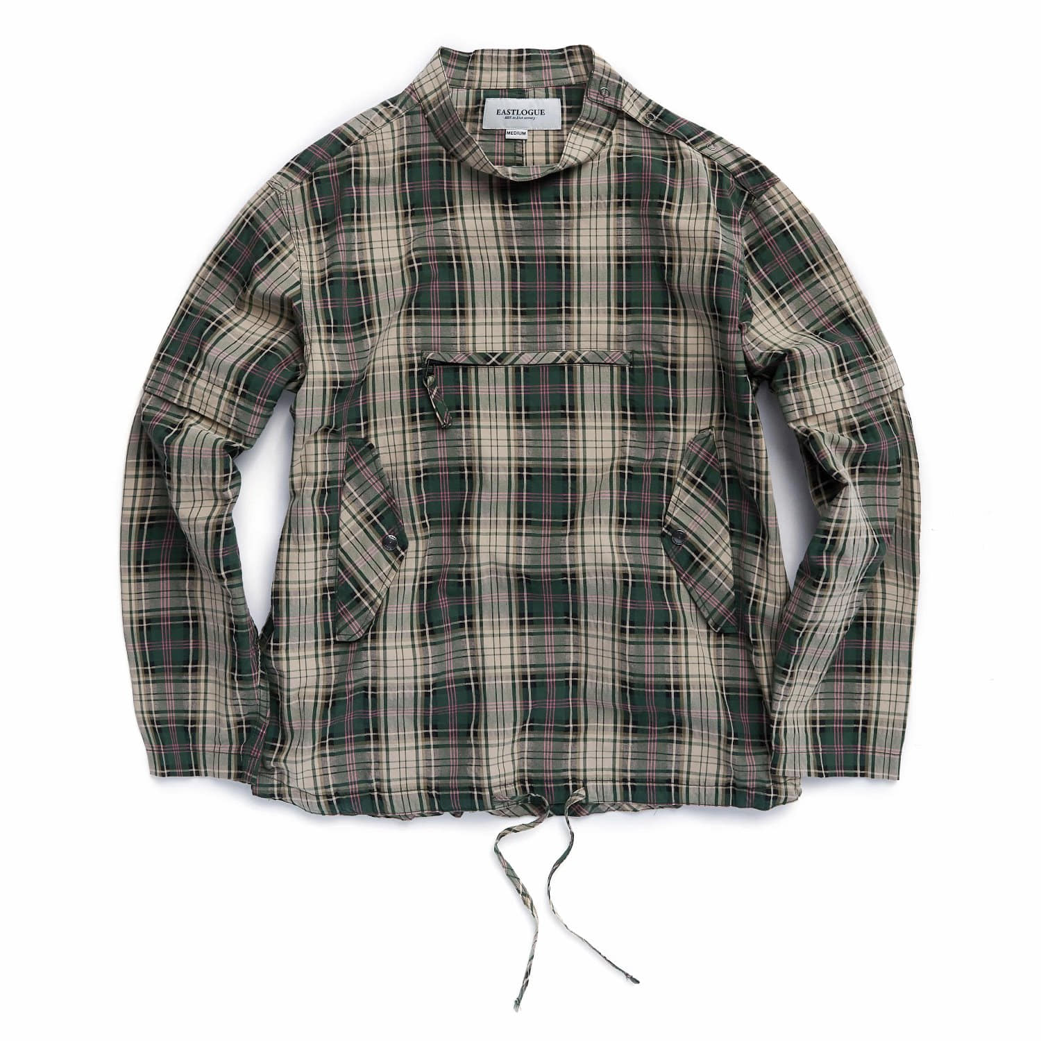 Eastlogue Smock Shirts (Green Multi Check)