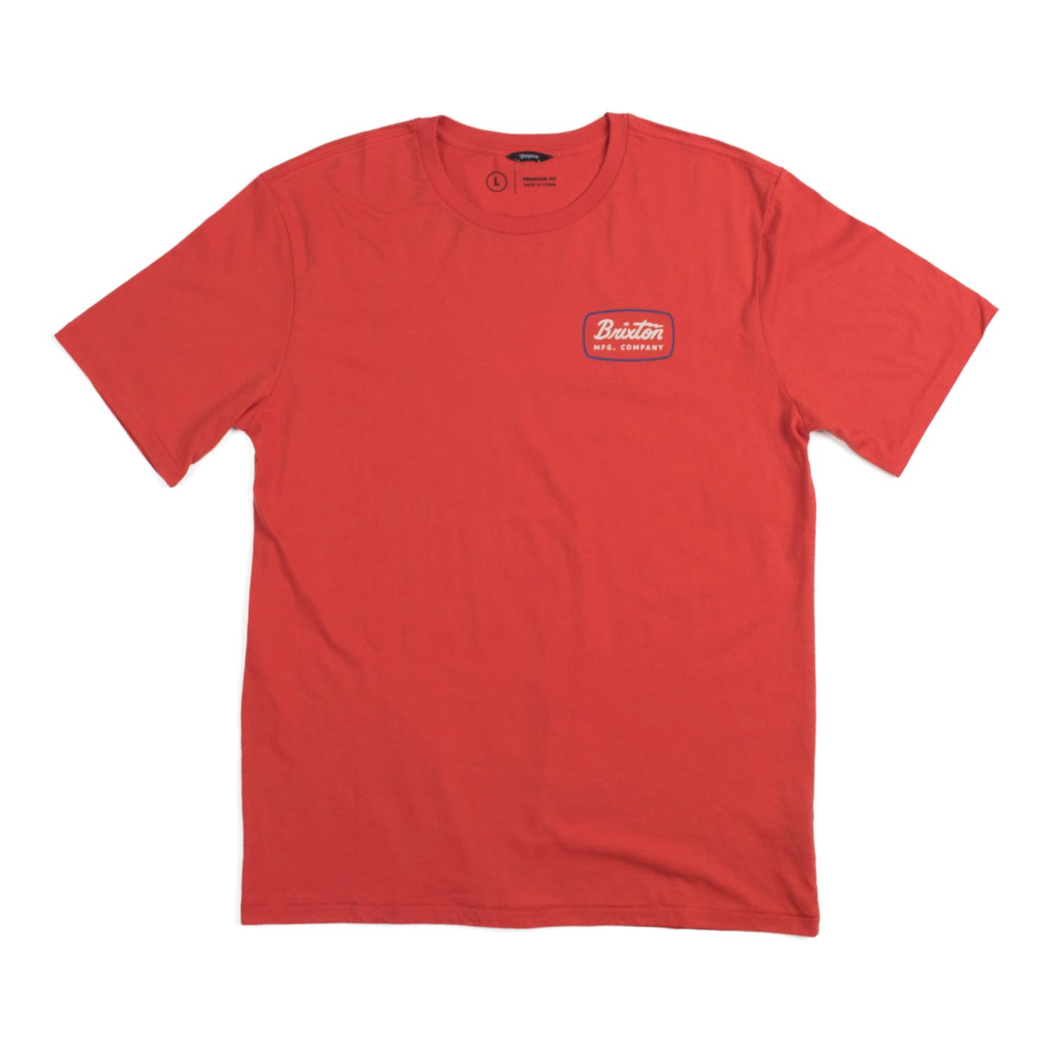 Brixton Jolt S/S T-Shrits (Red Clay)