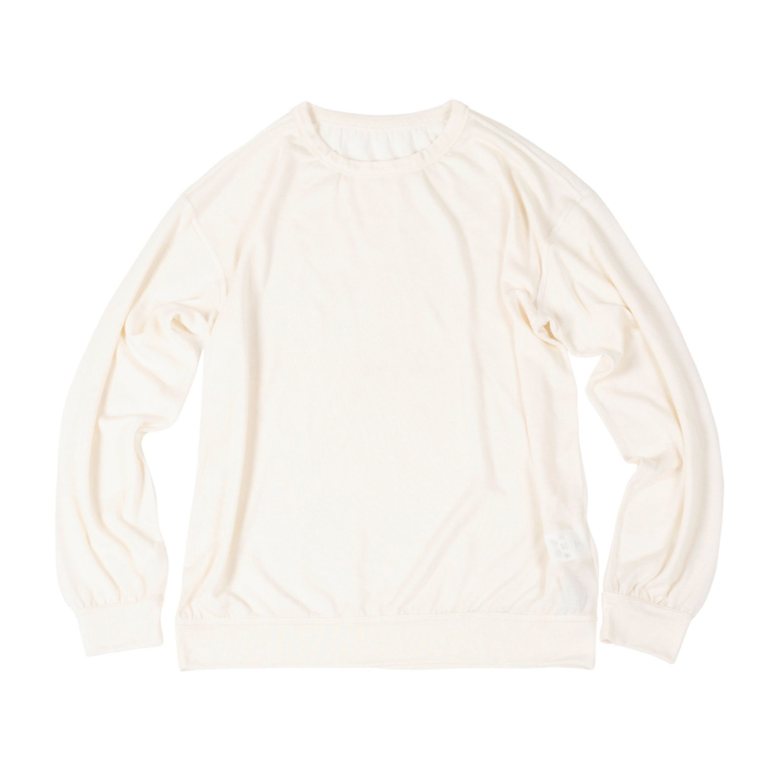 Corozo Makers Drape Knit Tee (off white)