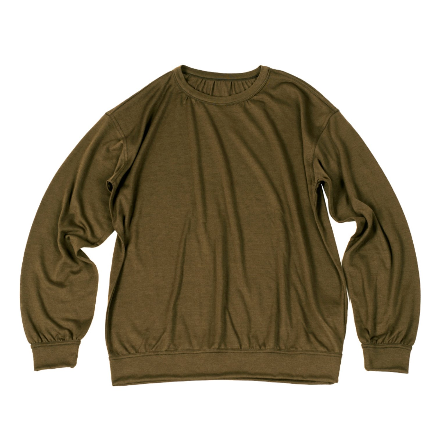 Corozo Makers Drape Knit Tee (Olive)