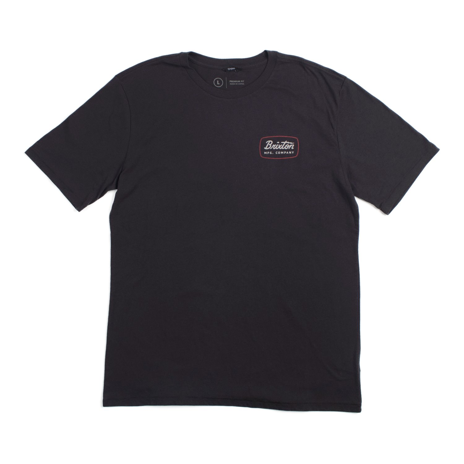 Brixton Jolt S/S T-Shrits (Washed Black / Red)