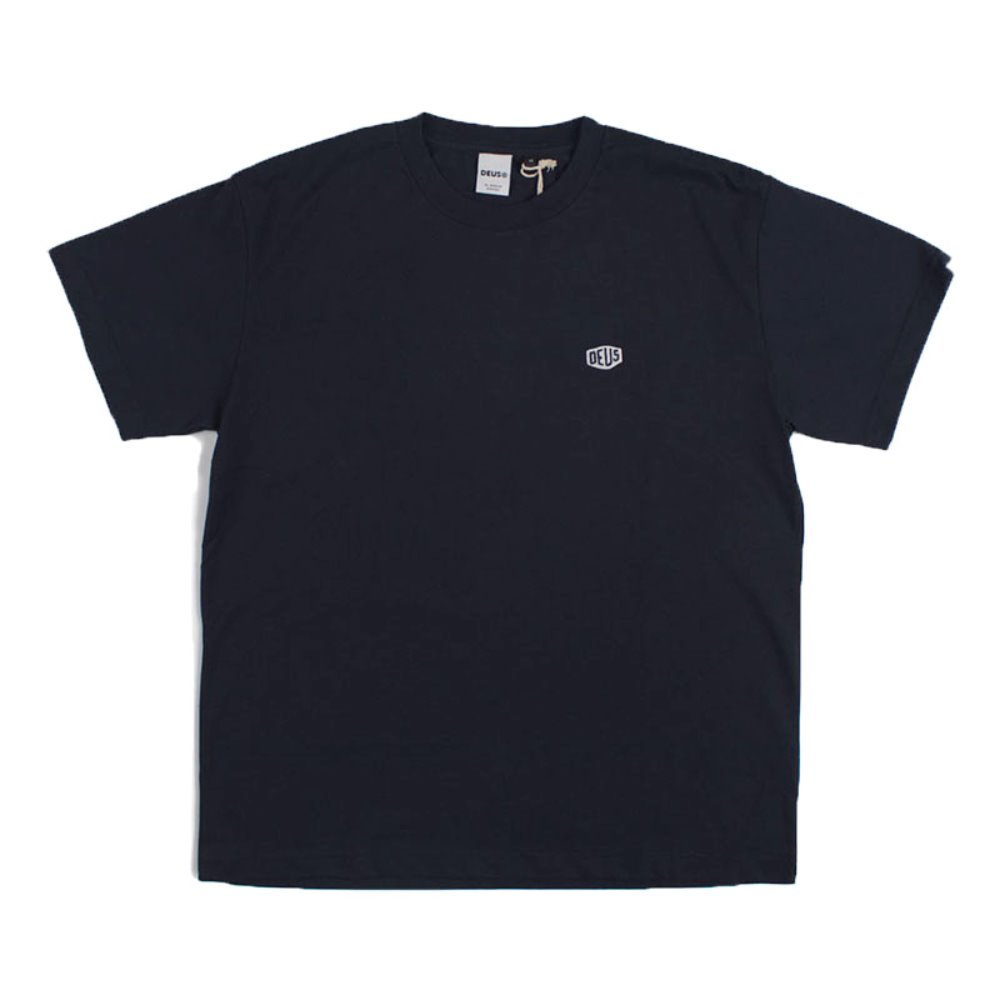 Deus Steve Shield Tee (Navy)