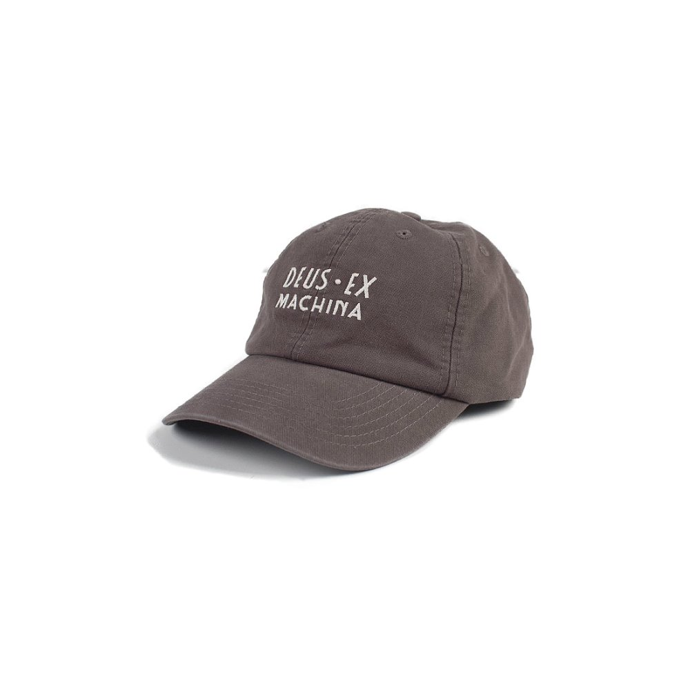 Deus Charlestown Cap (Washed Black)