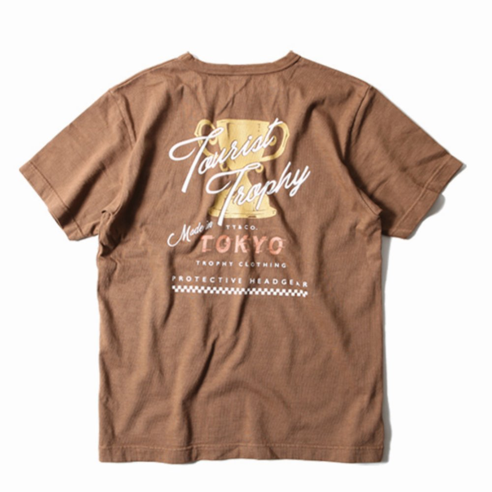 Tourist OD Pocket Tee (Mocha)