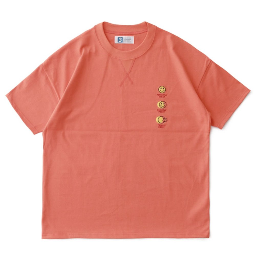Smile Hotel Room DD Card Oversized Tee (Coral)