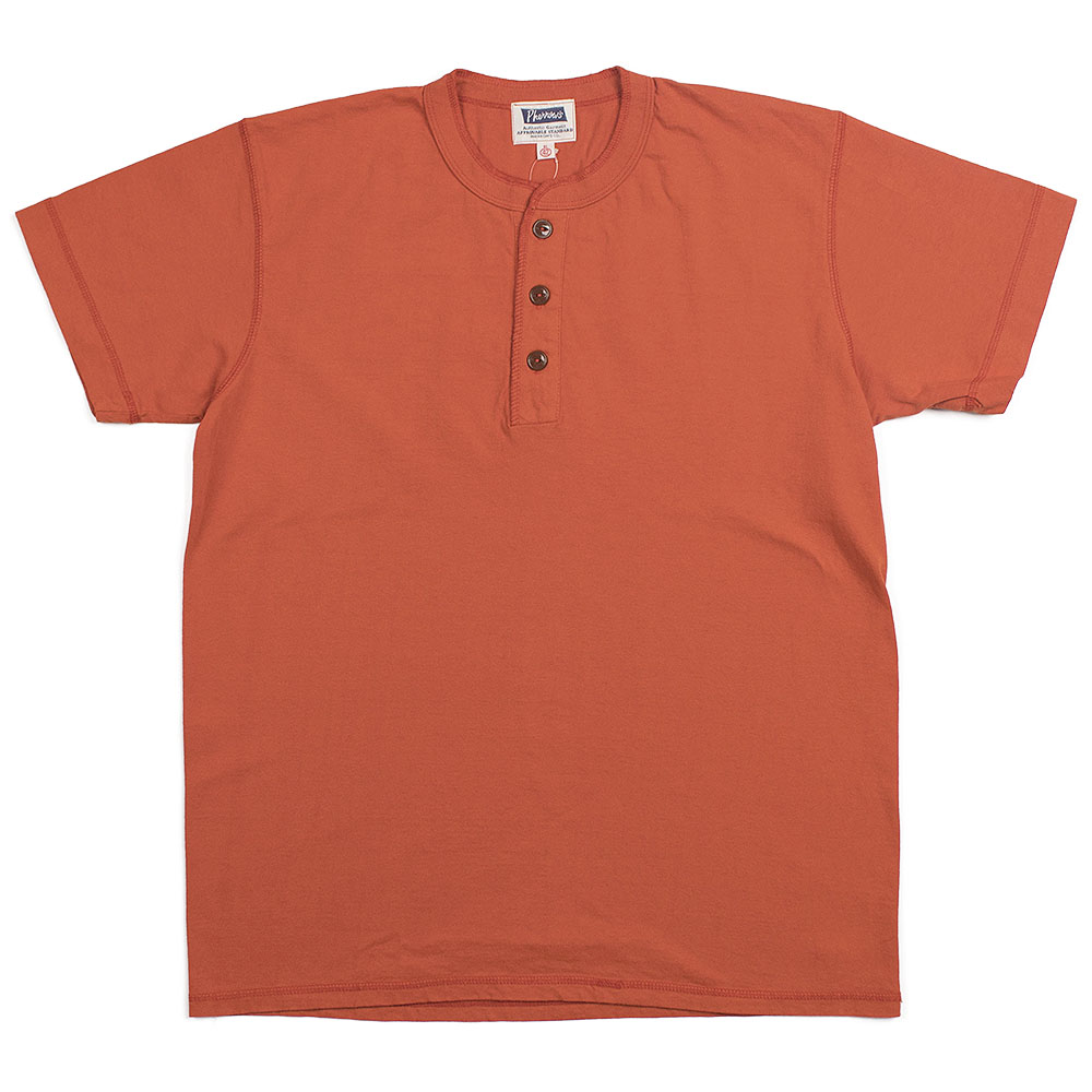 Pherrow's Henley T (M.Orange)