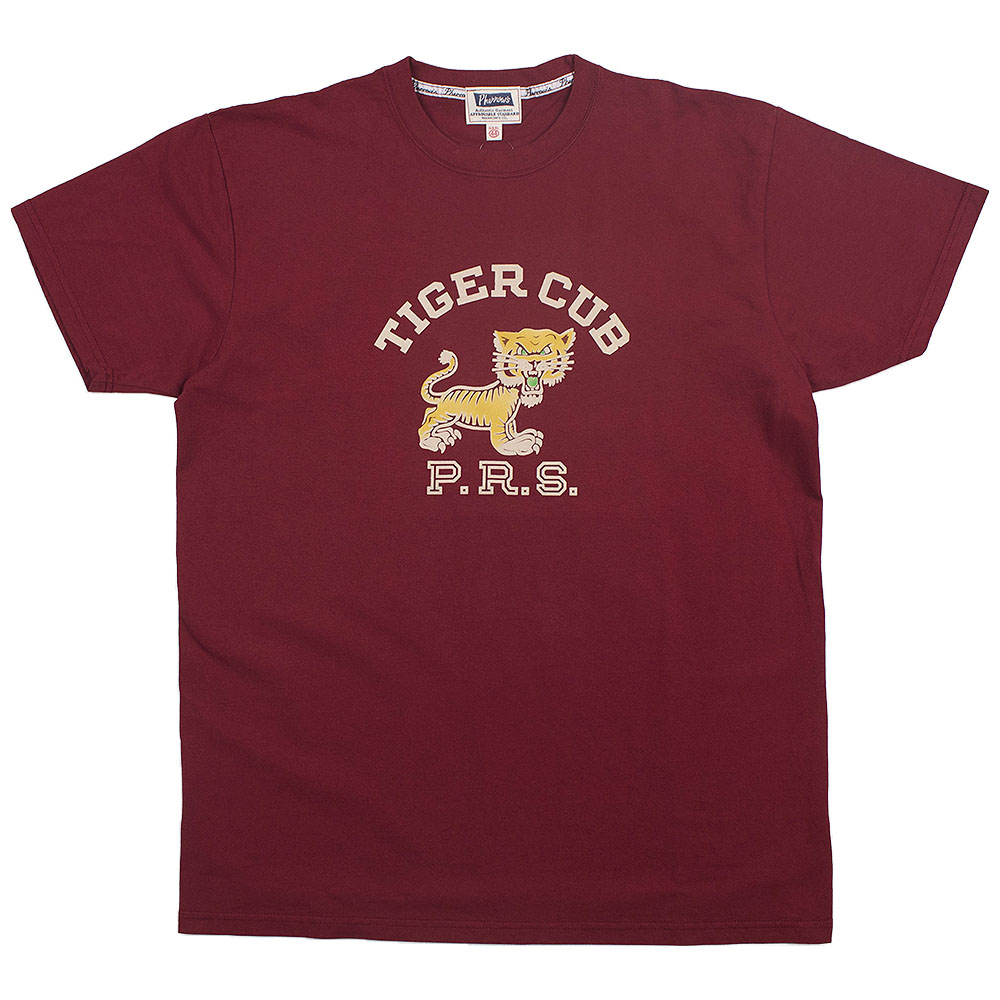 Pherrow's Tiger Club T (Burgundy)
