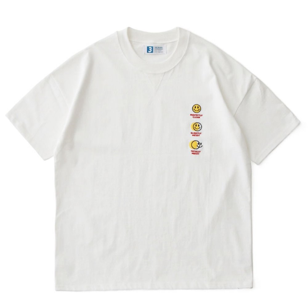 Smile Hotel Room DD Card Oversized Tee (White)