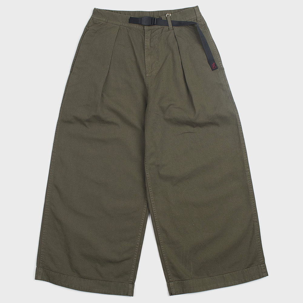 Gramicci Baggy Pants (Olive) for woman