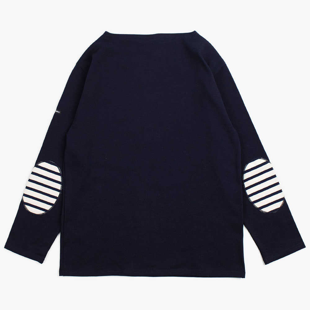 Guildo U Elbow Patches (Navy - Ecru/Marine patch)