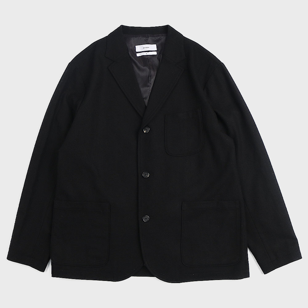 3B Wool Blazer (Black)