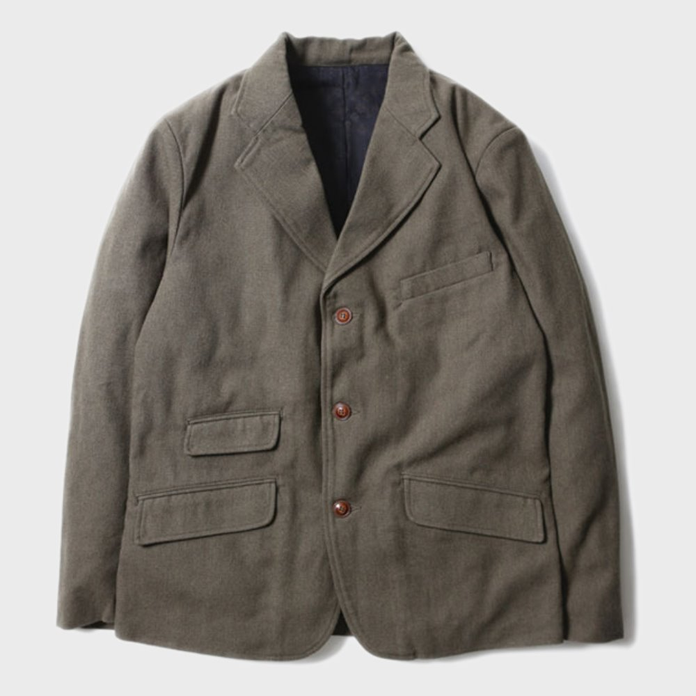 Brooklyn Wool Jacket (Olive)