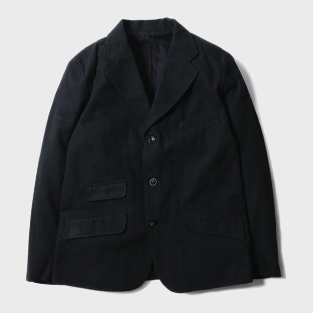 Brooklyn Wool Jacket (Black)