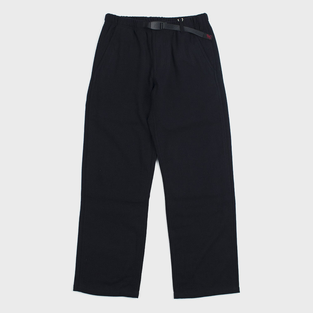 Wool Blend Lax Pants (Double Navy) for woman