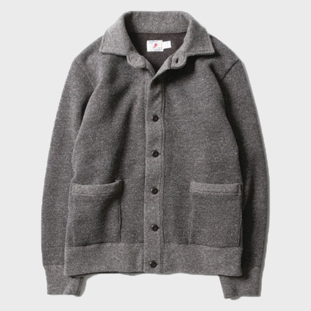 Salt&Pepper Button Sweat Jacket (Brown Mix) 11월 첫째주 배송예정