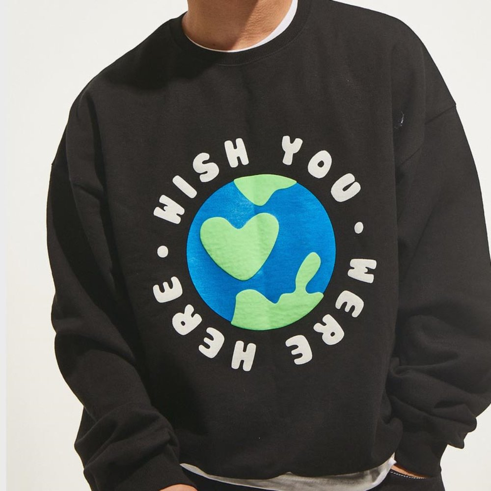 Wish Sweat Shirts (Black)