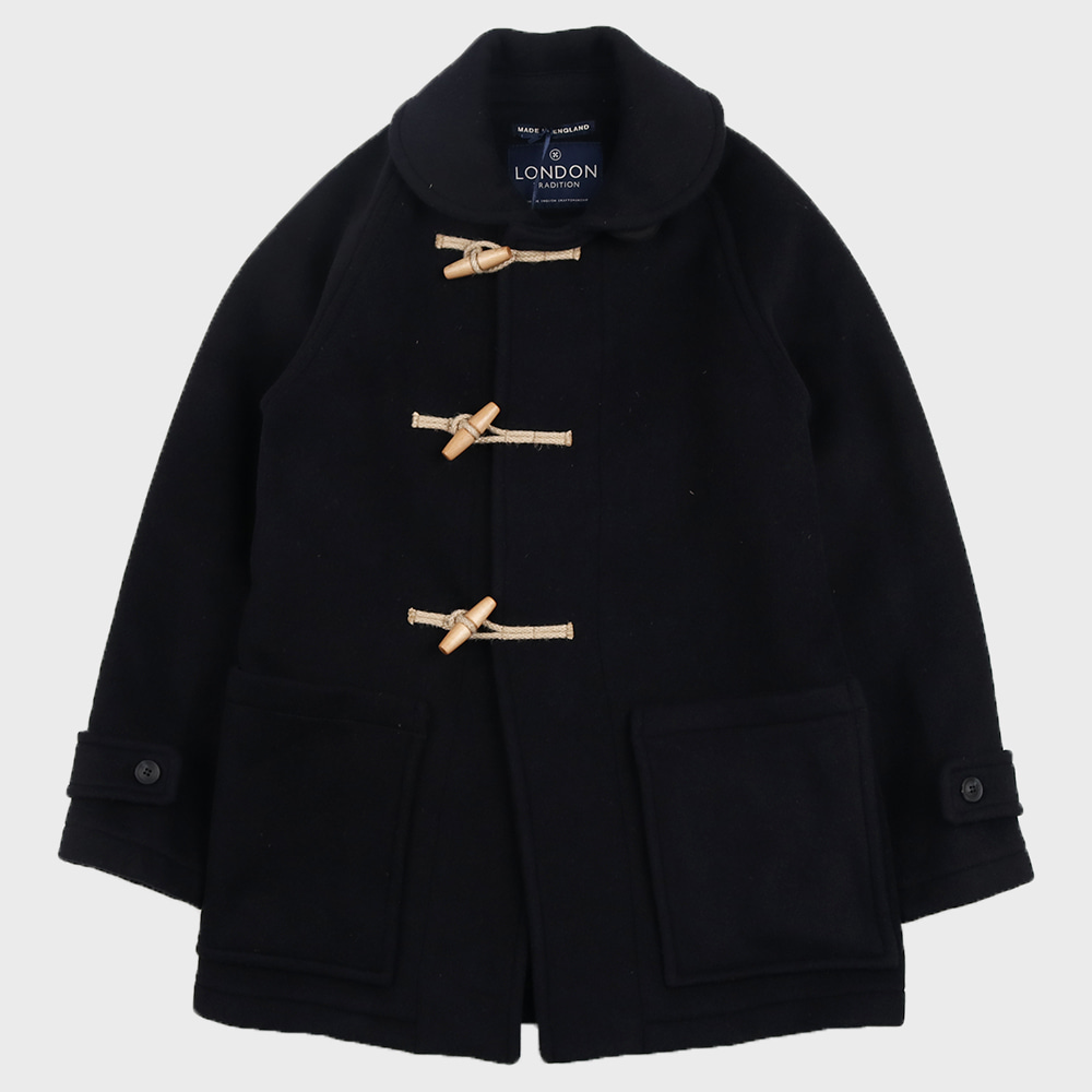 Edward Mens Duffle Coat (Navy SBB)