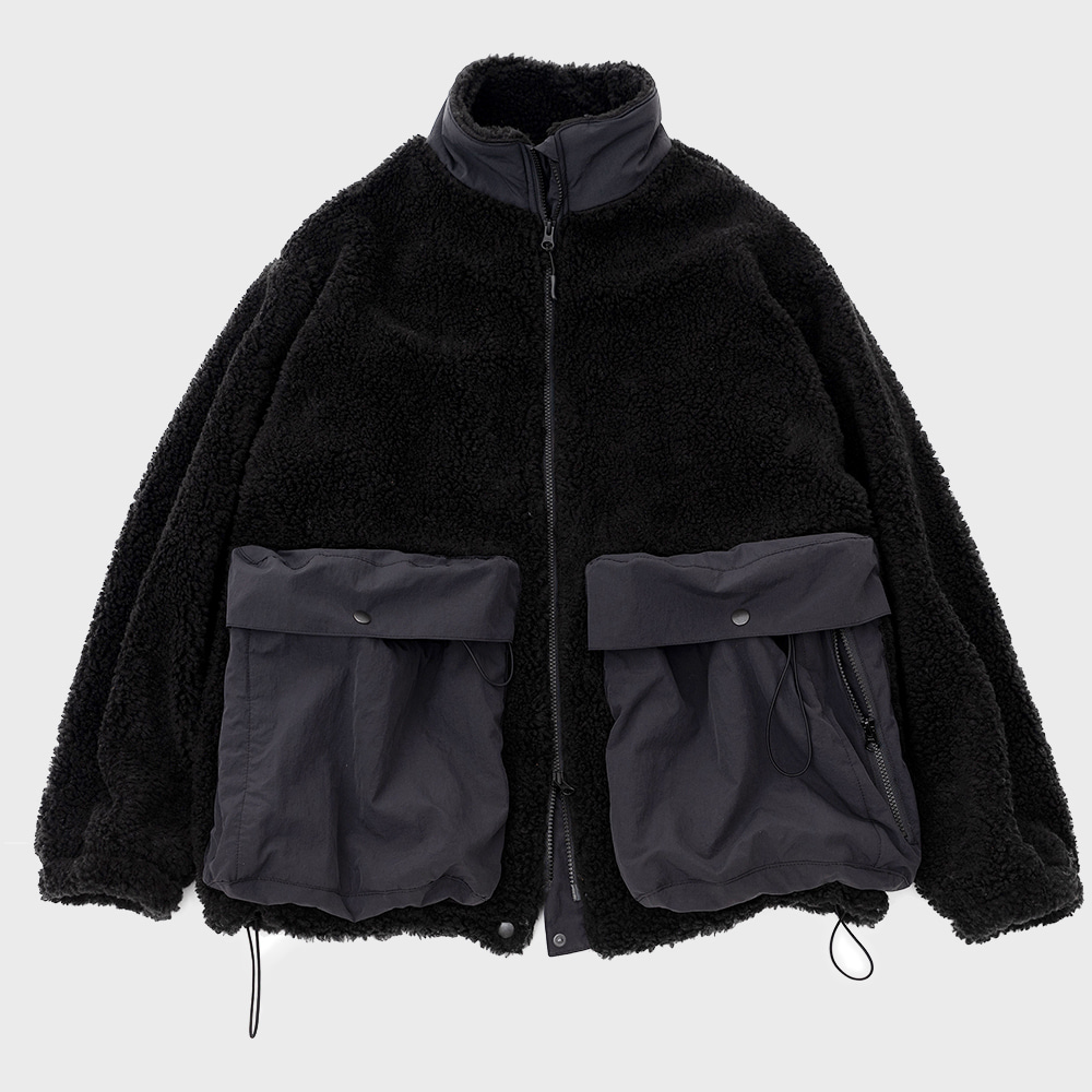 Solid Fleece (Black)