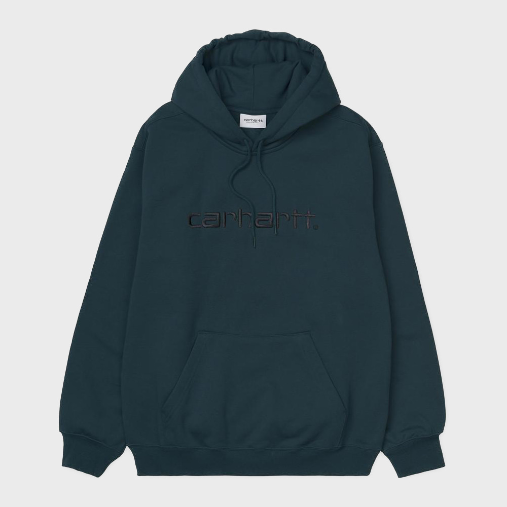 Hooded Carhartt Sweatshirts (Blue / Black)