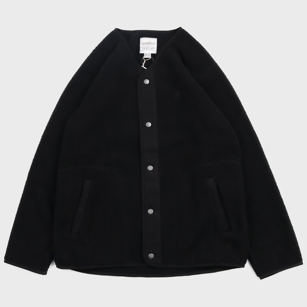 Boa Fleece Jacket (Black)