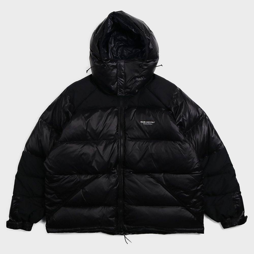 4XL Down Jacket (Black)