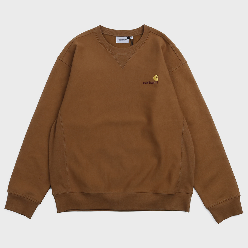 American Script Sweat Shirts (Hemilton Brown)