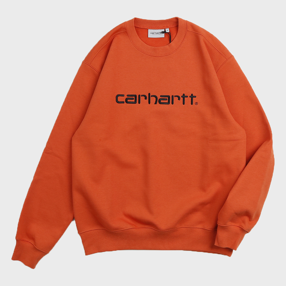 Carhartt Sweatshirts (Brick Orange)