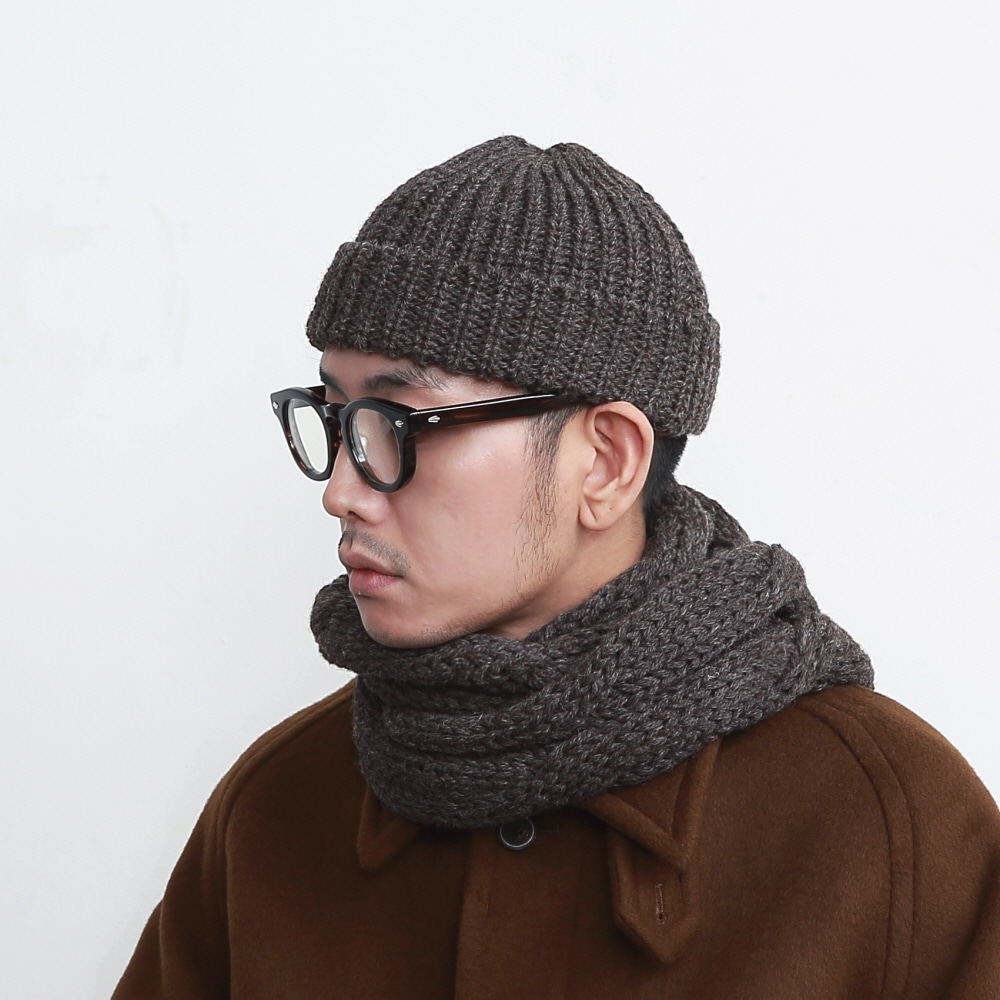 DAILY INN X HIGHLAND 2000 DOORMAN BEANIE (COCOA)
