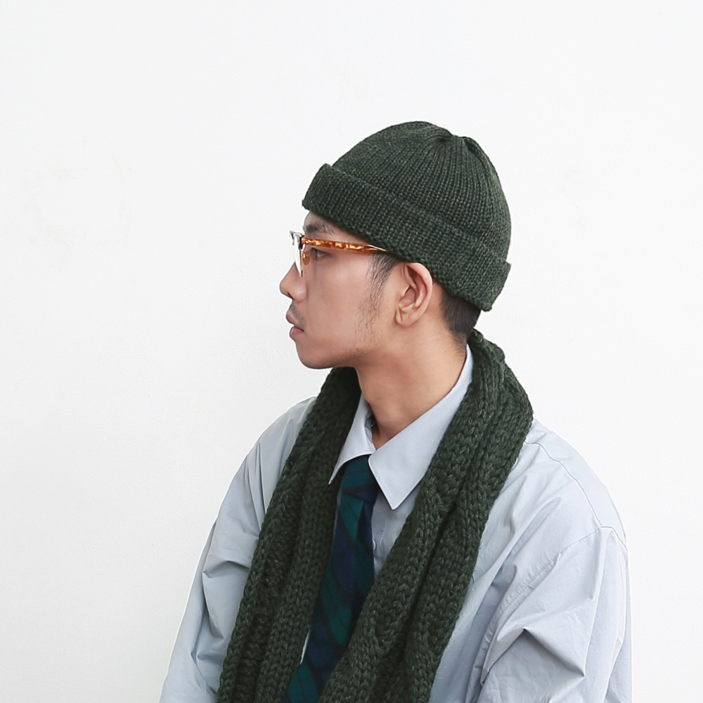 DAILY INN X HIGHLAND 2000 RECEPTION BEANIE (Loden)