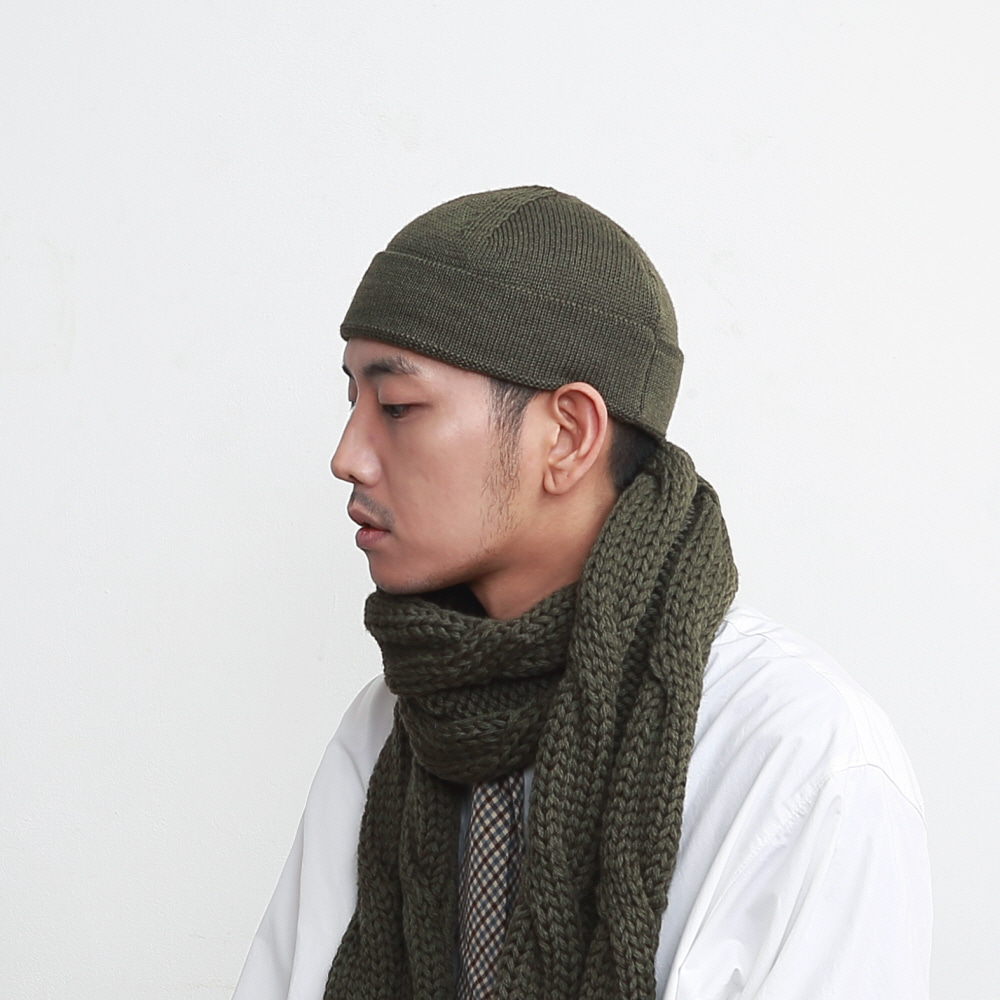 DAILY INN X HIGHLAND 2000 WATCH CAP BEANIE (US ARMY)