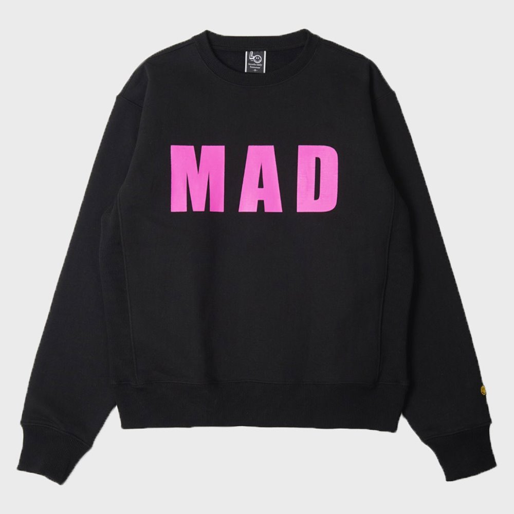 LOCALS ONLY MAD Sweat Shirts (Black)