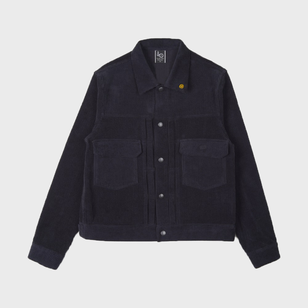 LOCALS ONLY 2nd Corduroy Jacket (Navy)