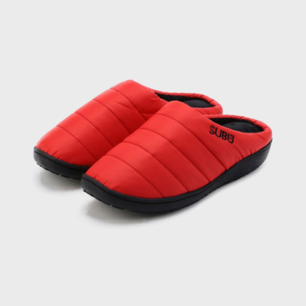 Down Sandal (Poppy Red)
