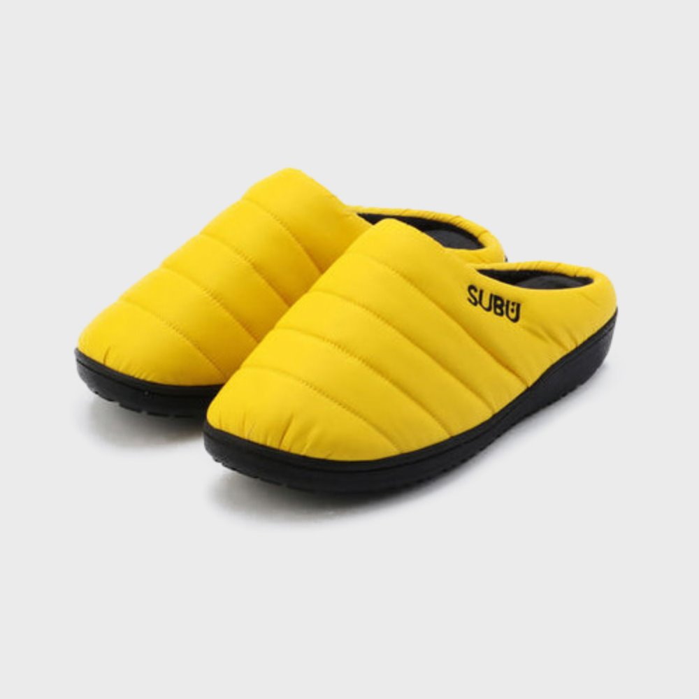 Down Sandal (Vibrant Yellow)