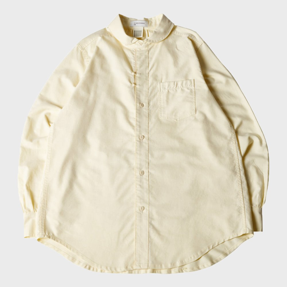 BACK POCKET COMFY SHIRT (Yellow)
