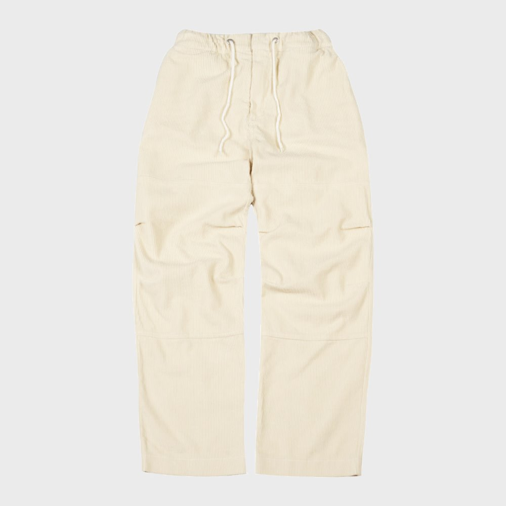 Corduroy Easy Pants (Ivory)