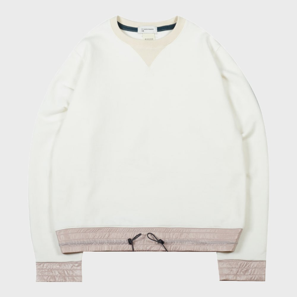 Color Block Sweatshirts (Ivory)