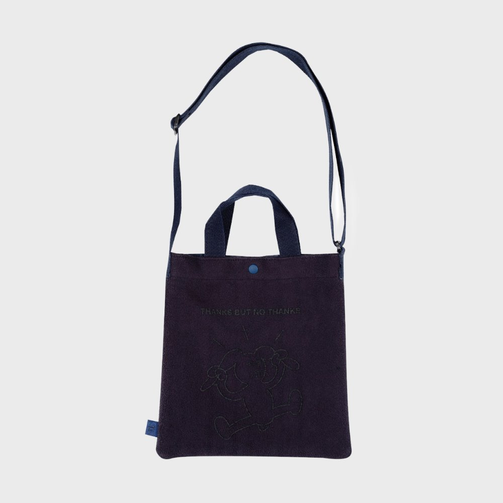 Mini Tote Bag (Navy)