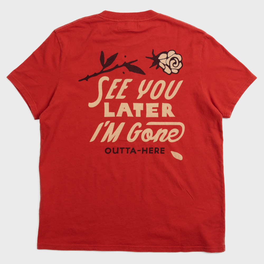 See You Tee (Red Molten)