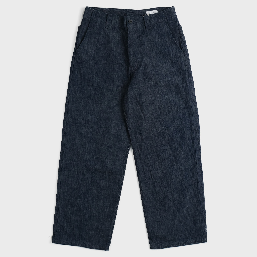 Wide Denim Pants - DN01201OS