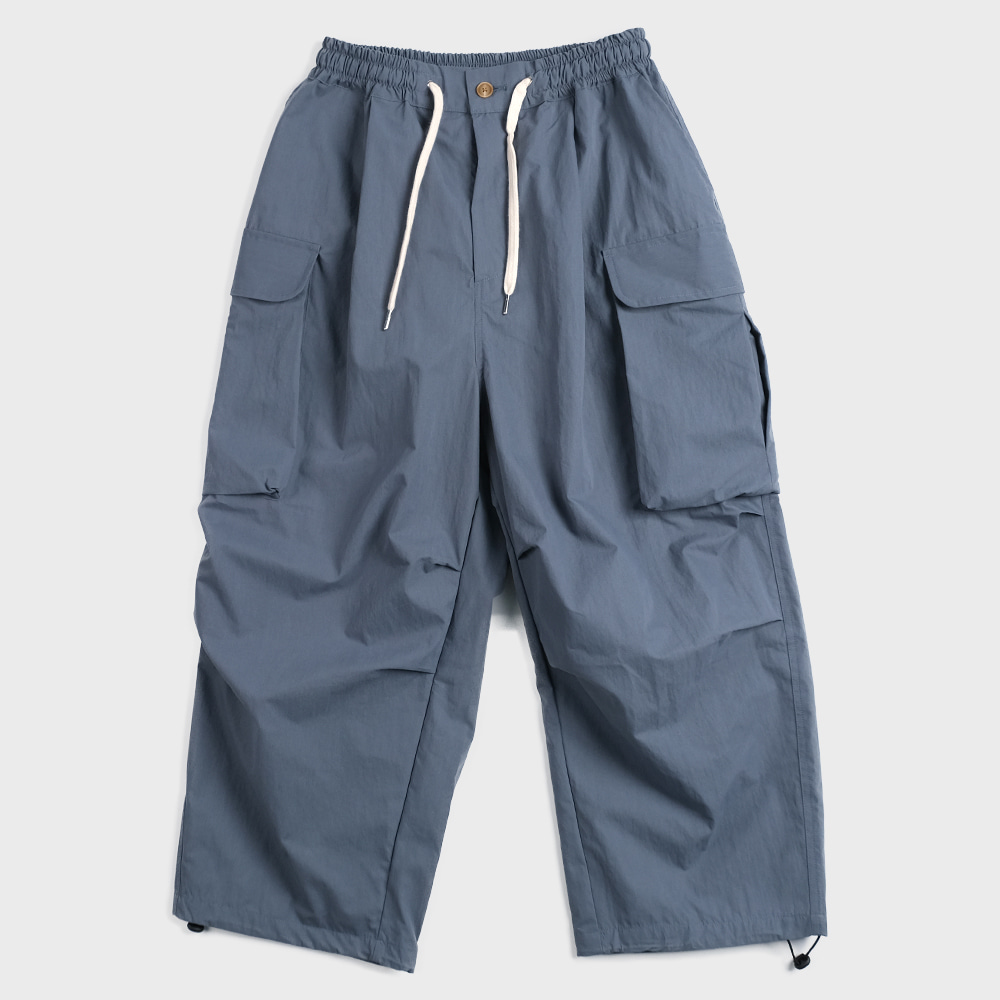 Wide Cargo Pants (Air Force)