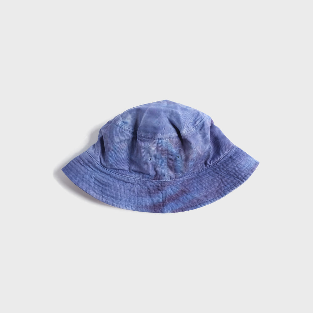 Tie Dye Sailor Hat (Blue)
