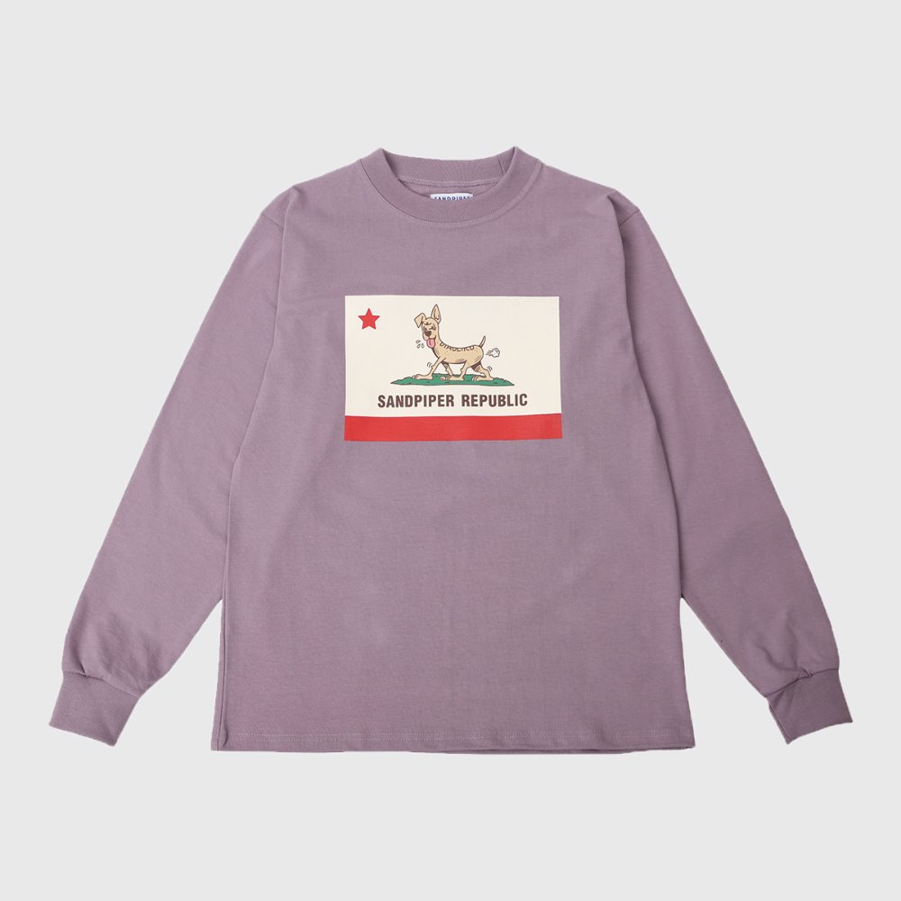 Sandpiper Republic L/S T Shirts (Light Purple)