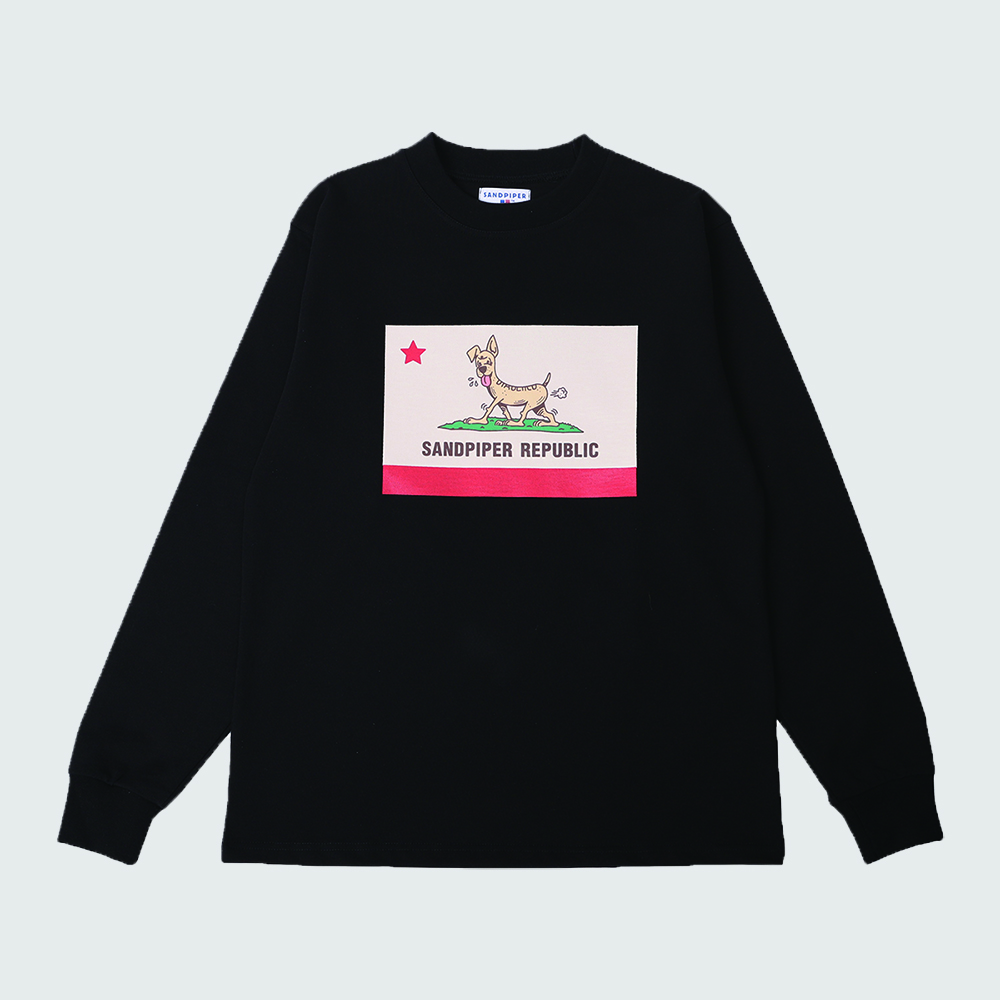 Sandpiper Republic L/S T Shirts (Black)