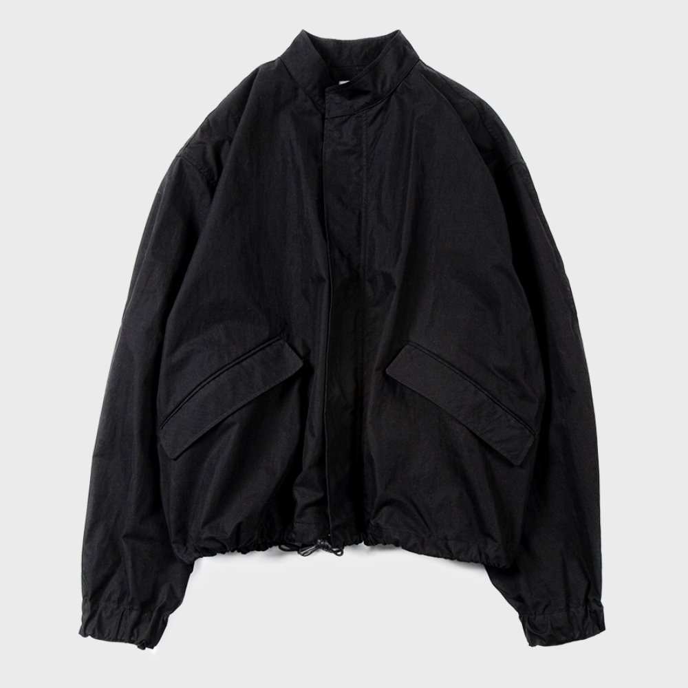 Essential Short Jacket (Black)