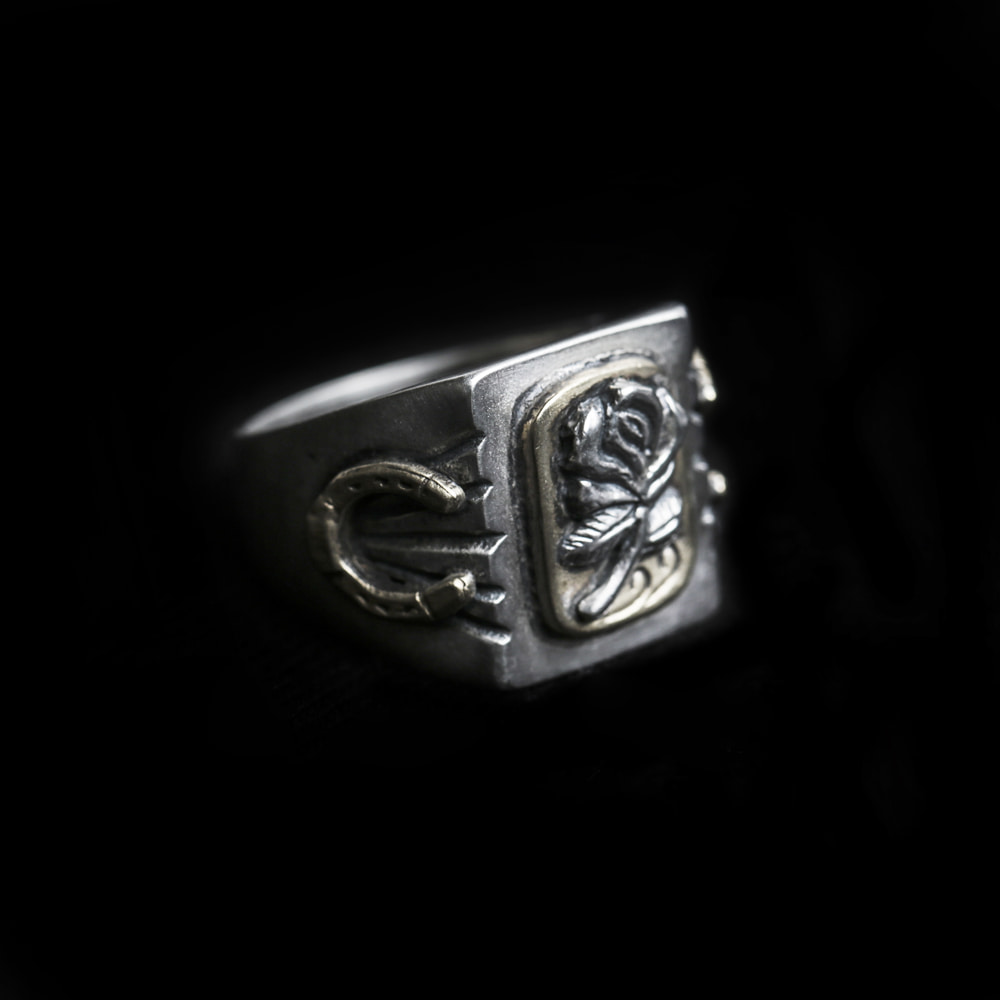 Rose Mexican Ring (925 Silver)