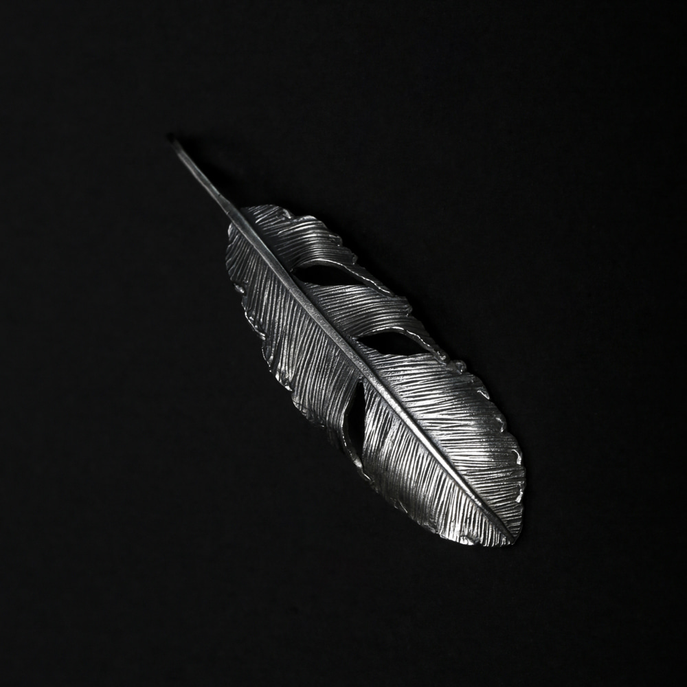 Helldorado Feather Pendant 01 (Silver 925)